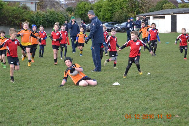 Under 10's At St Bridgit's RFC